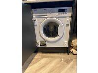 Brand new integrated Zanussi washing machine 7kg