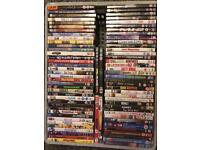 ** Over 100 DVDs for only £10. ** Grab an absolute bargain!!!