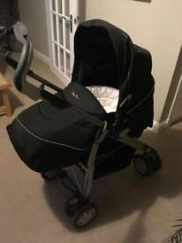 Silver Cross Travel System - pram, push chair and car seat
