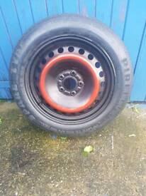 "Spare 16"" car wheel"