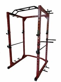 Commercial Power Cage - Squat Rack Gym Weights