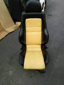VW colour concept Recaro seats