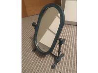 Antique industrial style mirror