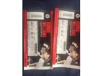 Robbie tickets