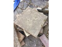 Free hardcore and paving slabs - Horfield