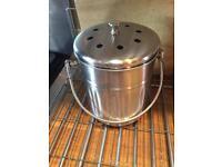 Kitchen caddy/ compost pail/ bin by kilner