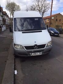 mercedes sprinter, 2006, diesel , perfect condition, drives superb, very cheap only £1950