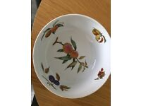 Royal Worcester porcelain bowl