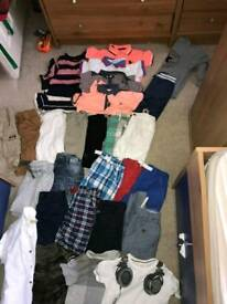 boys clothes bundle aged 4-5 mostly next clothes