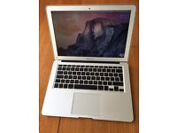 "macbook air 13"" 1.86GHz 256GB A1369 late 2010, 1 v.small mark on base otherwise perfect"