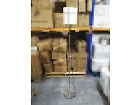 Used Floor Lamp With LED Bulb Light (Cool White Or Warm White)