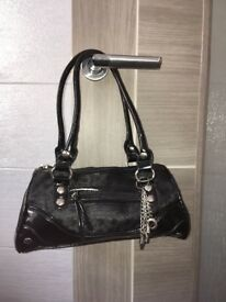 Women's small black bag