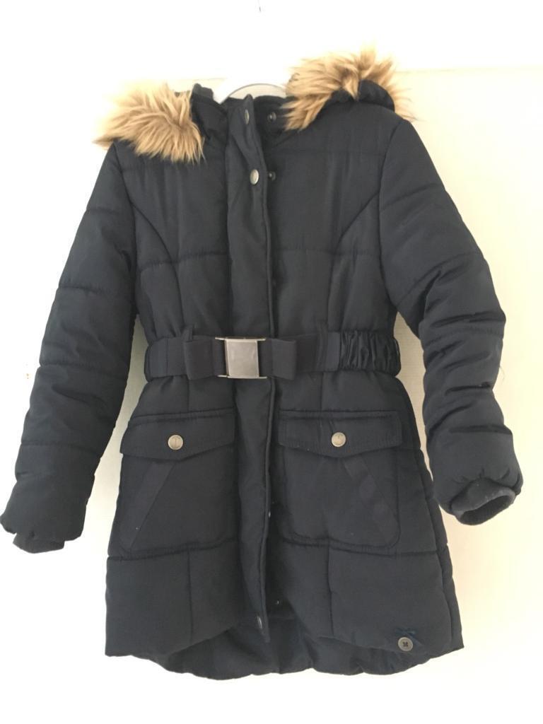 51209fec4 J by Jasper Conran - Girls  navy padded shower resistant coat