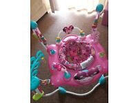 Disney minnie mouse activity jumperoo baby