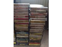 78 original music cassettes