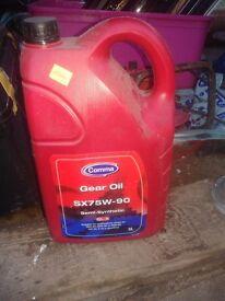 GEAR OIL CAR VAN TRUCK, SX75W-90 COMMA SEMI SYNTHETIC