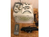Microsoft Xbox 360 60GB including accessories and games