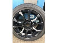 "4 x 15"" Wolfrace Eurosport rims with 4 Toyo Tyres"