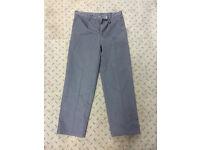 Work trousers - 32 inch waist dark navy blue workwear pants