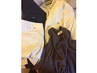 Bundle of designer clothes men's