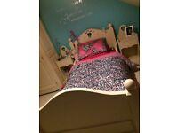 Kids cream bedroom furniture