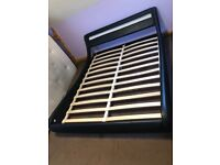 King Size Bed Frame with Multiple Choose light up Headboard