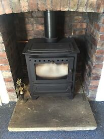 Multi fuel stove and excessories see pictures