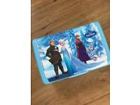 NEW Frozen Disney lunch box/ storage box new