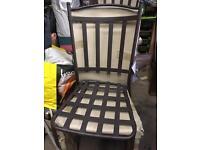 Galvanised chairs