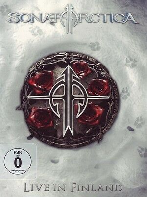 "Sonata Arctica ""Live In Finland"" 2 Dvd+2 Cd Neu"