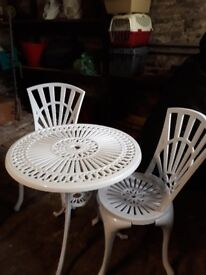 Lovely garden table and chairs