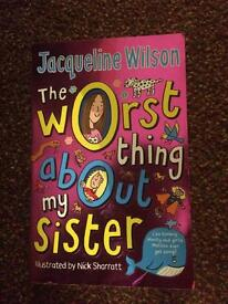 A collection of seven Jacqueline Wilson books