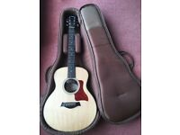 Taylor GS Mini acoustic guitar upgraded with optional Taylor ES-Go pickup