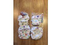 4 Bambino Mio nappy covers New/ nearly New