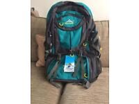 Large brand new backpack with multiple pockets