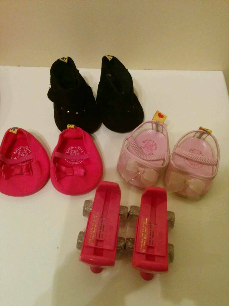 Job lot of Build a Bear clothes and shoes