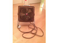 Extremely rare and very collectable Philips vintage fifties fan heater