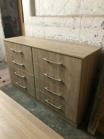 Quality large 8 runner drawers bedroom unit ex con