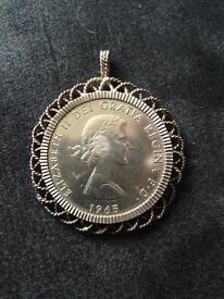 Churchill coin 1965