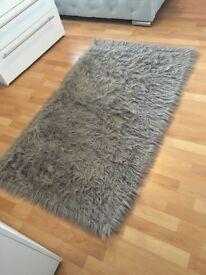 Taupe rug