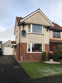 2 bed semi detached house with detached garage for sale. Walk in condition. £118000 or nearest offer