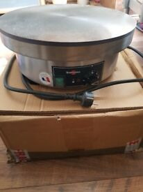 BRAND NEW KRAMPOUZ 400MM HEAVY DUTY ELECTRIC CREPE MAKER