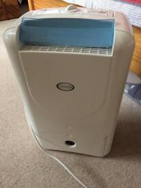 Ecoair dehumidifier (not working well - see notes)