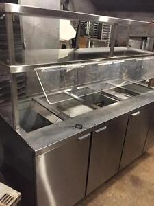 Refrigerated Buffet Table - MKE - Reconditioned