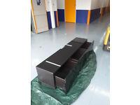 Luxury TV stand , black