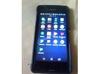 Sony experia unlocked android smart phone
