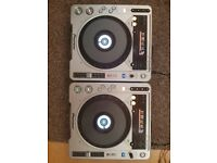2 x Pioneer cdj 800 mk2 MINT cd mp3 dj decks