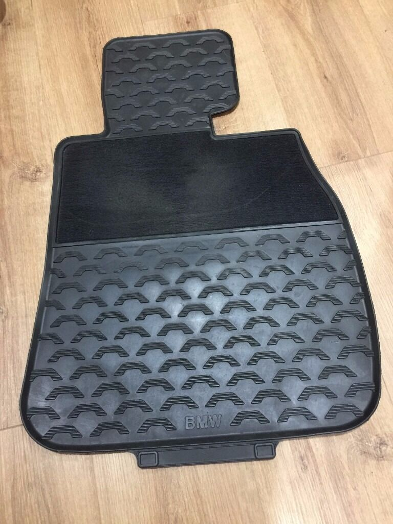 Bmw rubber floor mats e90 - Bmw E90 3 Series Genuine All Weather Rubber Floor Mats