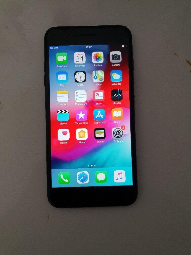 Sim Free IPhone 7 Plus Black 32GB   in Sherwood Rise, Nottinghamshire    Gumtree