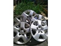 "Vauxhall wheels rims x 5 16"""